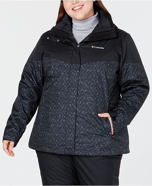 8e28685fbed0 Columbia Plus Size Loon Ledge™ Waterproof Interchange Jacket ...