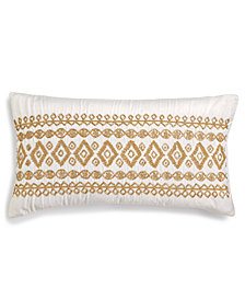 "Lacourte Regina 14"" x 26"" Decorative Pillow, Created for Macy's"
