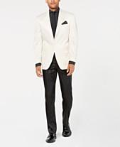 Sean John Men s Classic-Fit White Black Tuxedo Suit Separates 81abcce052f4
