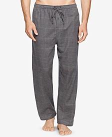 Men's Big & Tall Plaid Cotton Flannel Pajama Pants