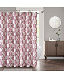 "CLOSEOUT! Leaf 72"" x 72"" Shower Curtain"