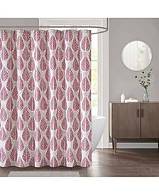 """Leaf 72"""" x 72"""" Shower Curtain"""