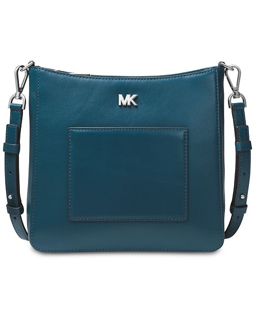 220992e8ac8e Michael Kors Gloria Soft Leather Pocket Crossbody & Reviews ...