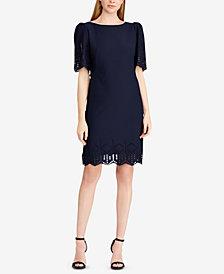 American Living Geometric Crepe Dress