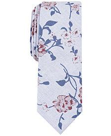 Penguin Men's Simmons Floral Skinny Tie