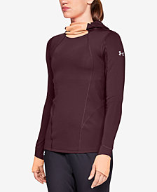 Under Armour ColdGear Fleece-Lined Balaclava Long Sleeve Top