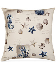 "Hallmart Collectibles Coastal 20"" Square Decorative Pillow"
