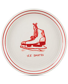 CLOSEOUT! Home Essentials Molly Hatch Ice Skates Canapé Plate