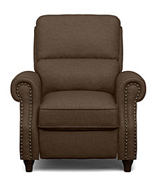 ProLounger® Push Back Recliner Chair in Brown Linen