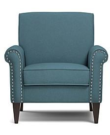 Janet Linen Arm Chair
