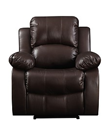 ProLounger® Coffee Brown Renu Leather Electric Wall Hugger Recliner