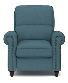Linen Push Back Recliner Chair