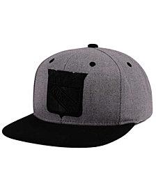 adidas New York Rangers 2 Tone Tonal Snapback Cap