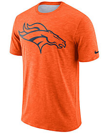 Nike Men's Denver Broncos Dri-Fit Cotton Slub On-Field T-Shirt