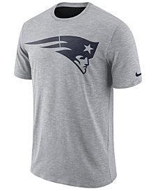Nike Men's New England Patriots Dri-Fit Cotton Slub On-Field T-Shirt