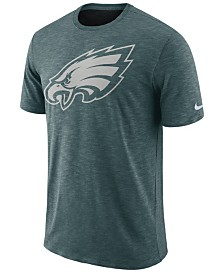 Nike Men's Philadelphia Eagles Dri-Fit Cotton Slub On-Field T-Shirt
