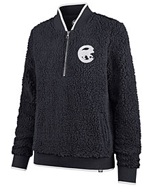 '47 Brand Women's Chicago Cubs Sherpa Quarter-Zip Pullover
