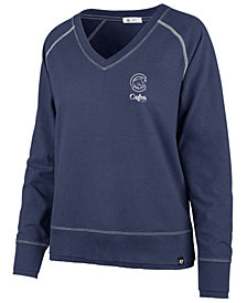 '47 Brand Women's Chicago Cubs Dakota Jumper Pullover Sweatshirt