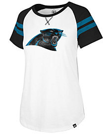 '47 Brand Women's Carolina Panthers Flyout Raglan T-Shirt