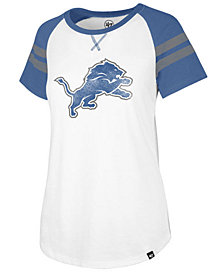 '47 Brand Women's Detroit Lions Flyout Raglan T-Shirt