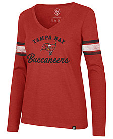 '47 Brand Women's Tampa Bay Buccaneers Spirit Script Long Sleeve T-Shirt