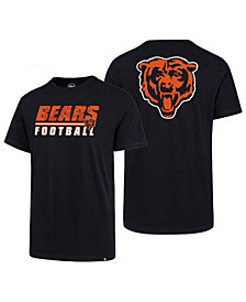 '47 Brand Men's Chicago Bears Fade Back Super Rival T-Shirt