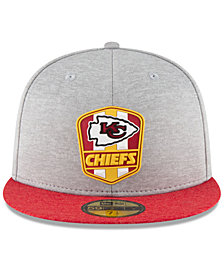 New Era Kansas City Chiefs On Field Sideline Road 59FIFTY FITTED Cap