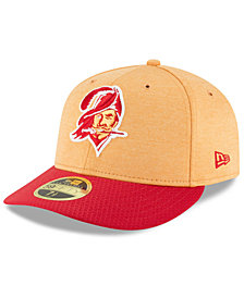 new arrivals 1c7ac 5ee3a New Era Tampa Bay Buccaneers On Field Low Profile Sideline Home 59FIFTY  FITTED Cap