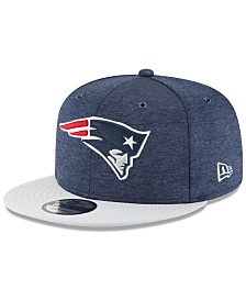New Era New England Patriots On Field Sideline Home 9FIFTY Snapback Cap