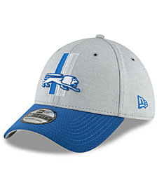 New Era Detroit Lions On Field Sideline Home 39THIRTY Cap