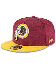 New Era Washington Redskins On Field Sideline Home 59FIFTY FITTED Cap eb3f4859d