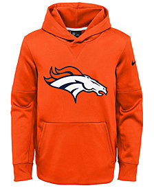 Nike Denver Broncos Circuit Logo Hoodie, Big Boys (8-20)