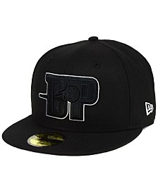 New Era Detroit Pistons Combo Logo 59FIFTY FITTED Cap