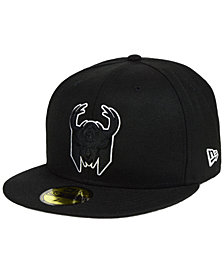 New Era Milwaukee Bucks Combo Logo 59FIFTY FITTED Cap