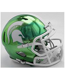 Riddell Michigan State Spartans Speed Chrome Alt Mini Helmet