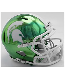 Riddell Michigan State Spartans Speed Chrome Alt Mini Helmet