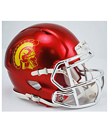 Riddell USC Trojans Speed Chrome Alt Mini Helmet