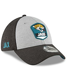 New Era Jacksonville Jaguars On Field Sideline Road 39THIRTY Stretch Fitted Cap