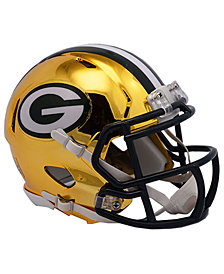 Riddell Green Bay Packers Speed Chrome Alt Mini Helmet