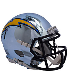 Riddell Los Angeles Chargers Speed Chrome Alt Mini Helmet