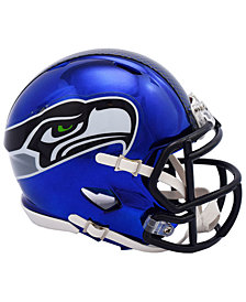 Riddell Seattle Seahawks Speed Chrome Alt Mini Helmet