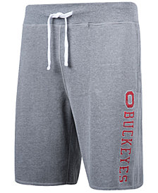Top of the World Men's Ohio State Buckeyes Sueded Fleece Shorts