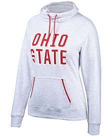 Top of the World Women's Ohio State Buckeyes Day Break Cowl Neck Sweatshirt