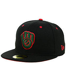 New Era Milwaukee Brewers Italian 59FIFTY FITTED Cap