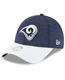 New Era Women's Los Angeles Rams On Field Sideline Home 9FORTY Cap
