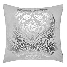 Graham & Brown Desire Silver Pillow
