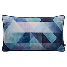 Dimension Blue Pillow