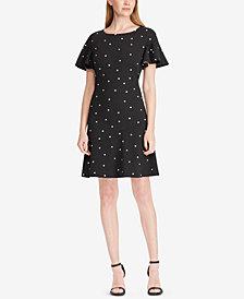Lauren Ralph Lauren Printed Fit & Flare Dress