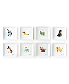 Kennel Club Set of 8 Dog Decorative Trays Designed By Stacy Claire Boyd    Includes 8 Designs
