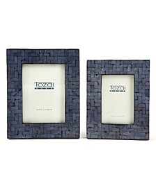 Shimmering Frames, Set of 2